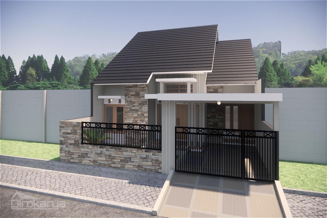 Desain Rumah Type 100 Malang Diro Karya