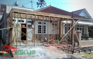 Renovasi Rumah Klasik Modern Diro Karya