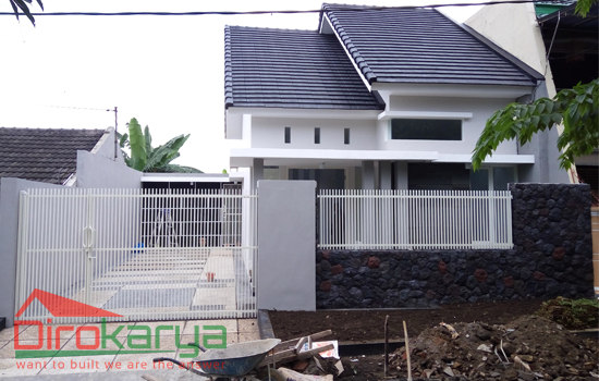 Rumah  Type  60  Minimalis Malang diro karya