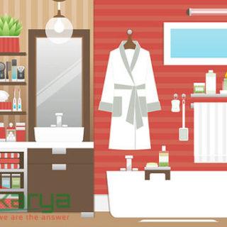 model kamar mandi sehat dan cantik